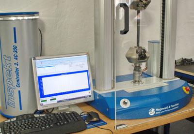 Inspekt table blue - 50 kN